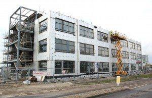 Pacific House construction April 2015