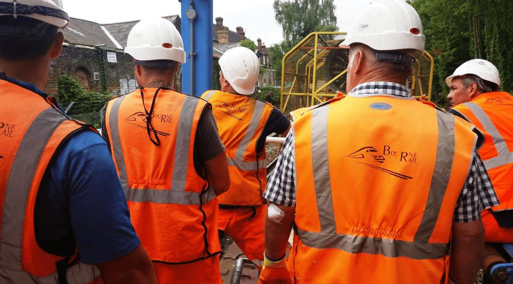 Bourne Rail workforce